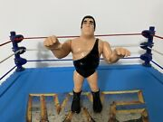 Wwf Hasbro Andre The Giant Action Figure Vintage 1990 Wwe - Ultra Rare