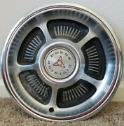 Set Of 4 Used Dodge Division Hubcaps 14 60s 70s Etc..