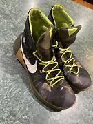 Nike Hyperdunk Camo Green Trainers Basketball Shoes Sneakers Mens Size 11