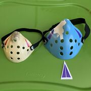 Jason Mask Friday The 13th Half Hock Filter Cover For Adult And Child 2 Masks