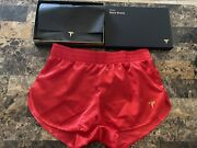 Tesla Red Short Shorts Size L Large Elon Musk Limited Run-rare New -in Hand