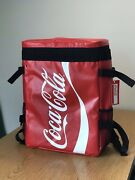 Coca Cola Collectibles Insulated Backpack Coke Red Thermos Bag Soda