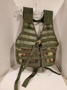 Us Army Molle Ii Flc Fighting Load Carrier Vest Bdu Tactical Lbv