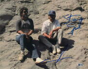 George Lucas And Steven Spielberg Dual Signed Autograph 11x14 Photo - Star Wars A
