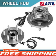 Rear Wheel Hubs And Bearings Pair Of 2 For 03-06 Expedition Navigator W/abs
