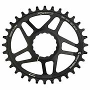 Wolf Tooth Elliptical Direct Mount Chainring For Race Face Cinch 30t - Black