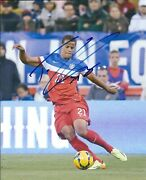 Autographed Timothy Chandler Usa Men's Olympic Soccer 8x10 Photo With Coa