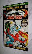 Marvel Team-up 1 Nm/mt 9.8 White Pgs 1972 Amazing Spider-man And Human Torch