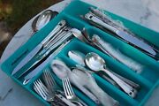 Flatware Lot Of, 130 Pieces, Roger's Bros 1847, Eternally Yours Silverplate