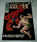 Sub-mariner 8 Nm/mt 9.8 White Pages 1968 Marvel - Thing Battle Issue