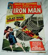Tales Of Suspense 53 Nm+ 9.6 Ow/w Pages 1964 Marvel Iron Man 2nd Black Widow