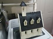 Dept 56 Merry Makers Church Paper Mache 93599 Large