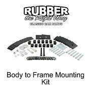 1957 Ford Body To Frame Mounting Kit - Convertible Only