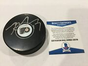 Rod Brindand039amour Signed Autographed Philly Flyers Hockey Puck Beckett Bas Coa A