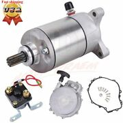 Recoil Pull Starter And Starter And Relay Solenoid For Polaris Sportsman 500 1996-13