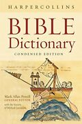 The Harpercollins Bible Dictionary Condensed Powell Allan 9780061469077