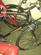 Colnago Master Pista Track Bike With Campagnolo Phil Wood Hubs 58cm Cinelli