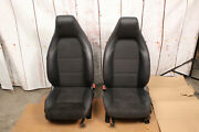 Mercedes Cla Cla45 W117 Suede Leather Seats Front Rear Driver Passenger Seat