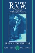 R.v.w. - A Biography Of Ralph Vaughan Williams By Williams, Ursula New,,