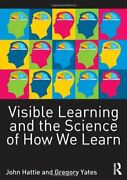 Visible Learning And The Science Of How We Learn, Hattie, John 9780415704991,,
