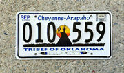 Real Oklahoma State License Plate Comanche Nation Auto Car Tag Native Indian Ok