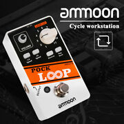 Ammoon Electric Stereo Recording Looper Loop Pedal For Guitar Bass Musical S9g1