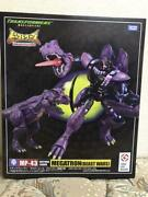 Transformers Masterpiece Mp-43 Megatron Figure Japan Anime Toy Free Shipping