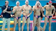 Official National Team Usa Mens Water Polo Swim Suit London Olympic Speedo Brief