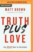 Truth Plus Love Compact Disc