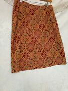 Wanted Clothing Company Womans Vintage Skirt Pencil Med 80s90s Geometric Retro