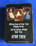 Official Deck Of Star Trek Playing Cards. Original Cast Of Tv Show From The 60'