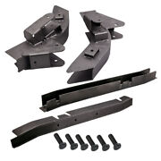4 Pcs Trail Arm And Skid Plate Center Frame Rust Repair For Jeep Wrangler Tj 2002