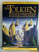 J.r.r. Tolkienmaster Of The Rings Dvd, 2002, 2-disc Set, Wb-discontinued, Oop