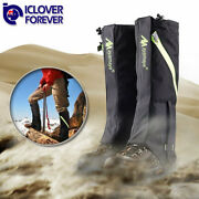 Mountain Hiking Hunting Boot Gaiters Waterproof Snow Snake High Leg Shoes Cover