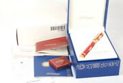 S.t.dupont Rendez-vous 1996 Red Chinese Lacquer Limited Fountain Pens 411720m