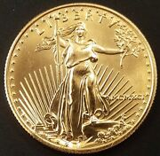 1991 1/2 Oz 25.00 American Gold Eagle Only 24100 Minted