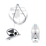 Boat Cover Support System Stand Kit With Adjustable Telescopic Pole And Straps