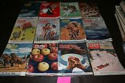 1940 Farm Journal And Farmerand039s Wife Complete Year Set Of 12 Beautiful Ads Art+