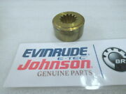 R70 Evinrude Johnson Omc 314504 Propeller Nut Spacer Oem New Factory Boat Parts