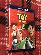 Toy Story 2 Blu-ray 3d Dvd Rare Oop With Lenticular Cover