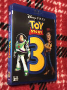 Toy Story 3 3d Blu-ray + Blu-ray + Dvd + Lenticular Cover