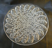 Lalique Vintage Crystal Roscoff Bowl - Signed - Fish And Bubbles - Pre-1978- 14
