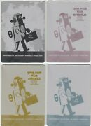 The Twilight Zone Archives 2020 Edition - Set Of 4 Printing Plates Archive Box