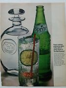 1964 Green Sprite Soda Bottle Nothing Proletarian About Vodka Mad Russian Ad