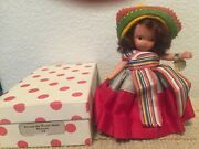Vintage Nancy Ann Storybook Doll 39 Mexican Pt Wt And Box Excellent Conditio