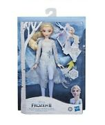 Nib Disney Frozen 2 Magical Discovery Elsa Doll With Lights And Sounds