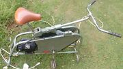Vintage Mac Levy Exercise Reducing Equipment Stationary Bicycle 2 Speed Works