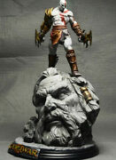 God Of War 10 Kratos Collecterand039s Edition Painted Resin Figure Statue Model