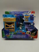 Pj Masks Nighttime Micros Trap And Escape Playset Catboy And Romeo New 2020