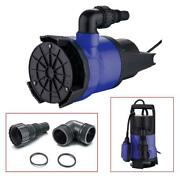 2000gph 1/2hp Submersible Water Pump Swimming Pool Pond Flood Drain With Handle